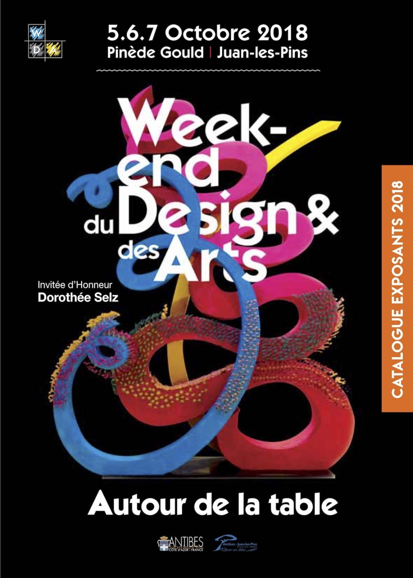 Salon Week-end du Design & des Arts - Autour de la table - Octobre 2018 - à Juan les Pins - Pinède Gould - Actualités Antibes - Juan les Pins - Tanit Immobilier
